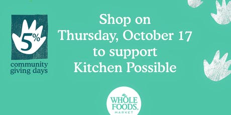 Shop to Support Kitchen Possible tickets