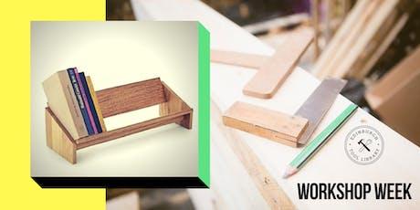 Desktop book #shelfie workshop tickets