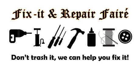 Fix-it & Repair Fairé tickets
