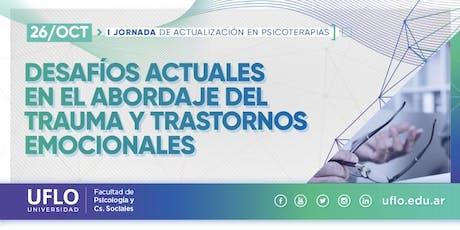 1ra Jornada de Actualización en Psicoterapias entradas