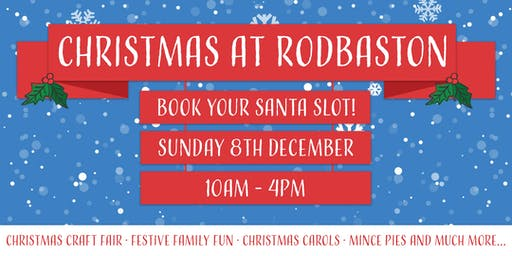 Meet Santa at Rodbaston Animal Zone