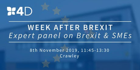 Week After Brexit*: Expert panel on Brexit & SMEs tickets
