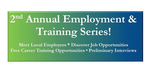 2nd Annual Employment & Training Series