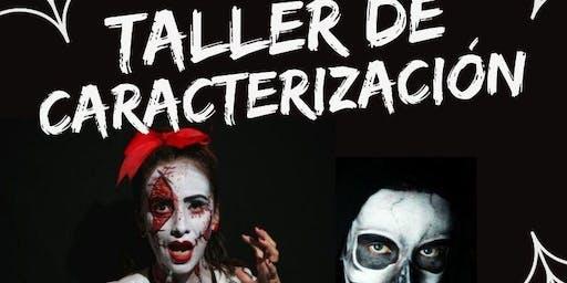 Taller caracterización de Halloween