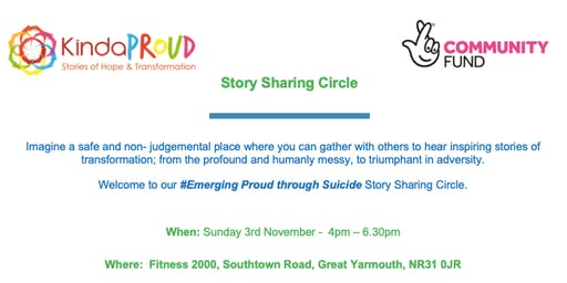 #Emerging Proud through Suicide Story Sharing Circle