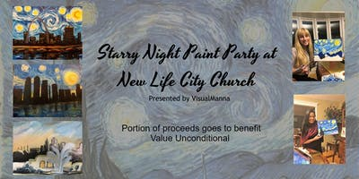 Starry Night Paint Party/ Workshop