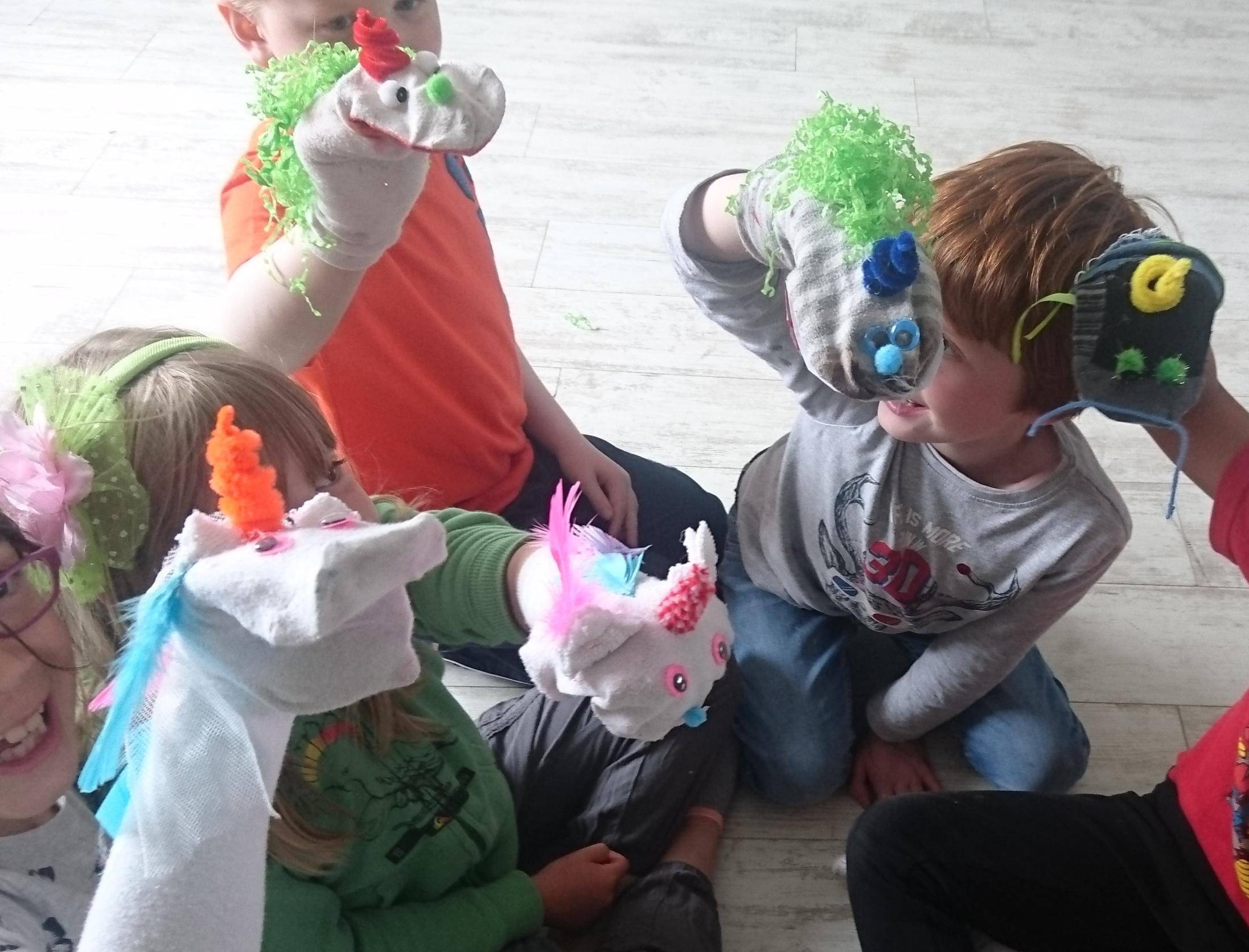 Masks and Puppets for kids and Juniors