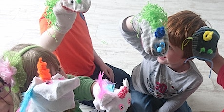 Masks and Puppets for kids and Juniors tickets