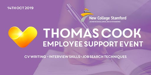 Thomas Cook Employee Support Event