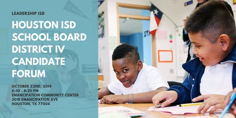 Houston ISD District IV Candidate Forum tickets