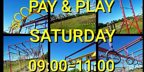 Saturday Morning Pay & Play (Weekly) tickets
