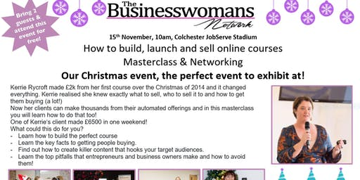 Big Christmas Shopping Event & How to build, launch and sell online courses