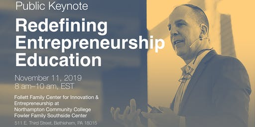Redefining Entrepreneurship Education with Gary Schoeniger