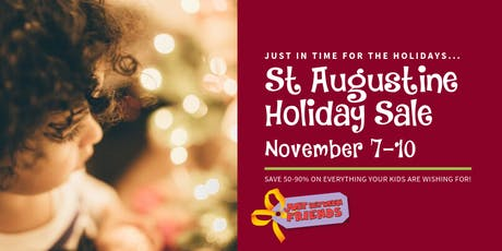 Just Between Friends St Augustine Holiday Sale tickets