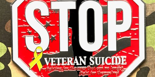 The Veteran's Suicide Awareness 1 Mile, 5K, 10K, 13.1, 26.2 -Topeka