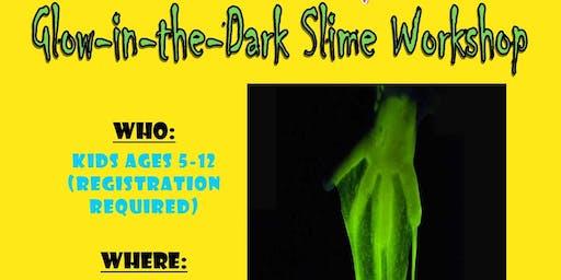 Glow-In-The-Dark Slime Workshop