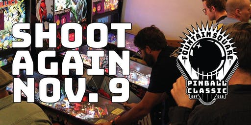 The 8th Annual Fountain Square Pinball Classic