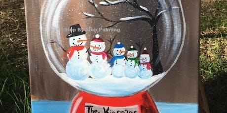 BYOB Snow Globe Paint Event tickets