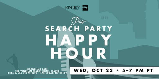 Pre-Search Party hosted by Kinney Group and CDW