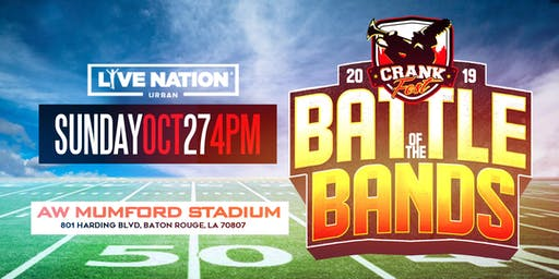 The 3rd Annual CRANKFEST Battle of the Bands Presented By LIVE NATION URBAN