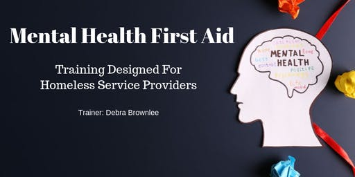 Mental Health First Aid Training for Commerce Grantees