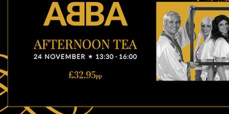 Abba Afternoon tea tickets