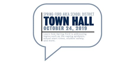 Spring-Ford Town Hall Meeting tickets