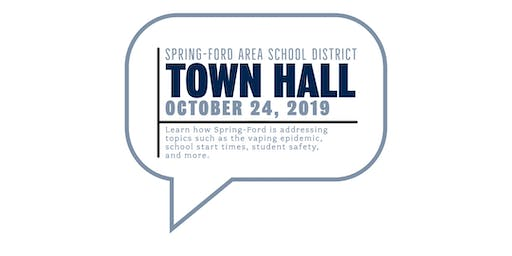 Spring-Ford Town Hall Meeting
