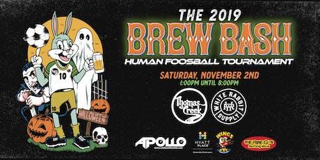 2019 Brew Bash & Human Foosball Tournament tickets