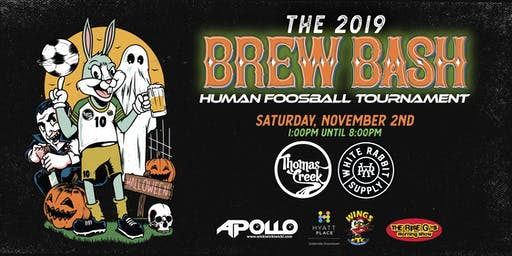 2019 Brew Bash & Human Foosball Tournament