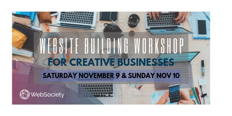 Website Building Workshop for Creative Businesses tickets