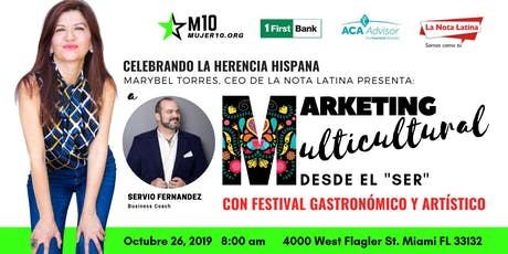 Marketing Multicultural & Festival Gastronómico y Artístico tickets