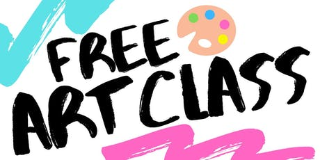 Free Trial Art Classes! ANIME, PAINTING & MORE tickets