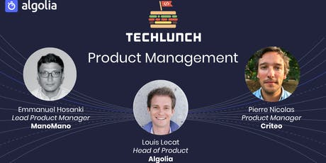 TechLunch #30: Product Management tickets