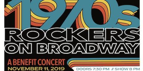 ROCKERS ON BROADWAY: 70's tickets