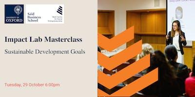 Impact Lab Masterclass: Sustainable Development Goals