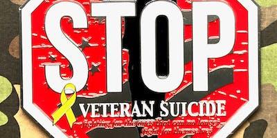 The Veteran's Suicide Awareness 1 Mile, 5K, 10K, 13.1, 26.2 -Bismark