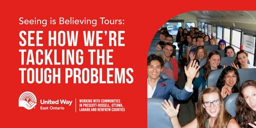 United Way East Ontario Seeing is Believing Tour October 16