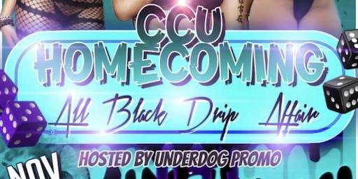 CCU Homecoming All Black Drip Affair