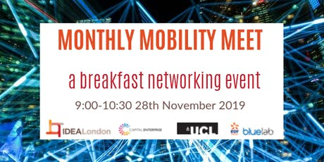 IDEALondon Future Mobility Breakfast #2 tickets
