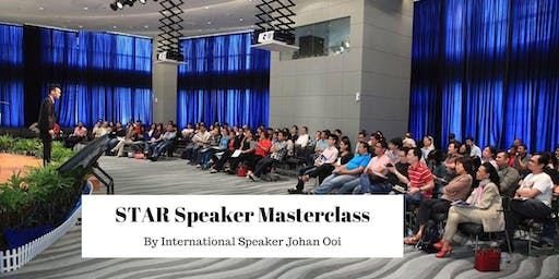 STAR Speaker Masterclass ( Noon Session )