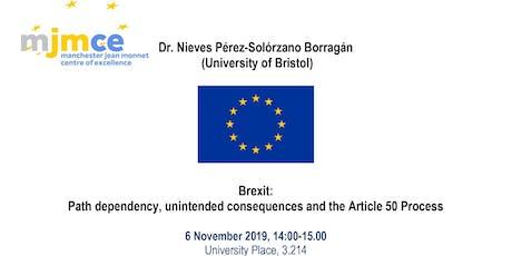 Manchester JMCE Seminar-Dr. Nieves Pérez-Solórzano Borragán (Bristol Uni.) tickets