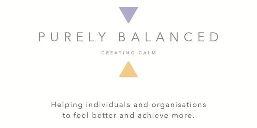 Creating Calm with Purely Balanced