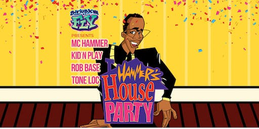 Party Bus to MC Hammer's House Party (90's Costume Edition)
