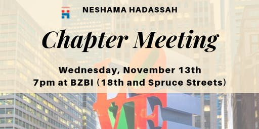 Neshama Hadassah Chapter Meeting