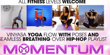 Yoga with Flavor at Momentum Sports Performance tickets