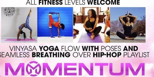 Yoga with Flavor at Momentum Sports Performance