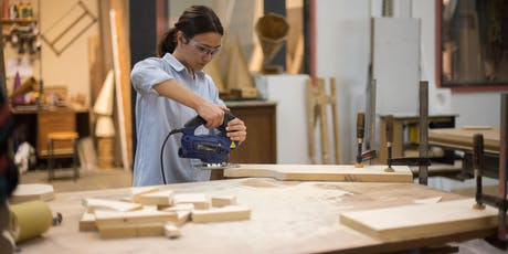 Workshop: basics of woodworking tickets