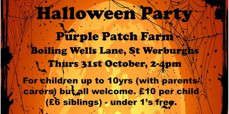 Halloween Party @ Purple Patch Farm tickets
