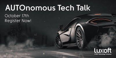 AUTOnomous Tech Talk Ingolstadt